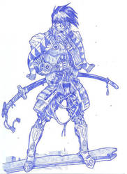 higa the samurai by Blood-Splach