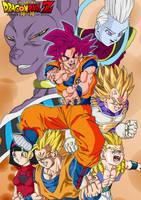 Dragon Ball Z kami to kami by Blood-Splach