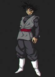 Black Goku by Blood-Splach