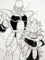 Attack of the ssj3's by Blood-Splach