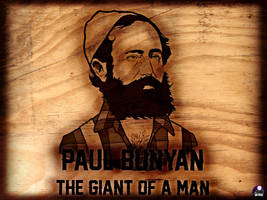 Paul Bunyan, The Giant Of A Man: Day 23 by darkspiritborameer