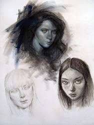 Portrait practice by AnaviTil