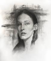 Portrait study / Practice 36 by AnaviTil