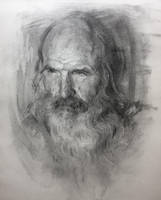 Old man / Portrait Practice by AnaviTil