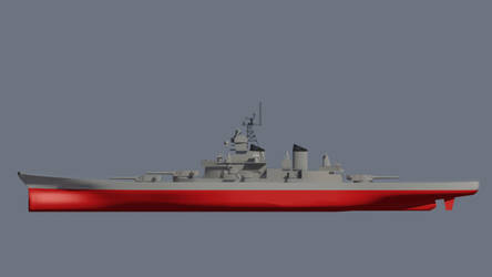 USS Missouri Side by Gnougnou