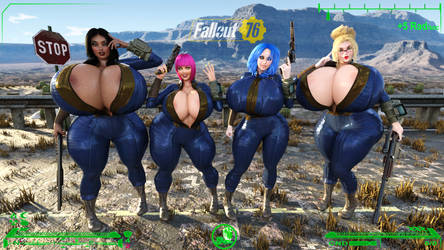 ST babes Fallout 76 by SuperTito