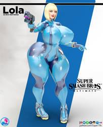 Lola Zero Suit Samus by SuperTito