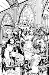 Zenescope Cover by Alfredo Reyes by Pendecon