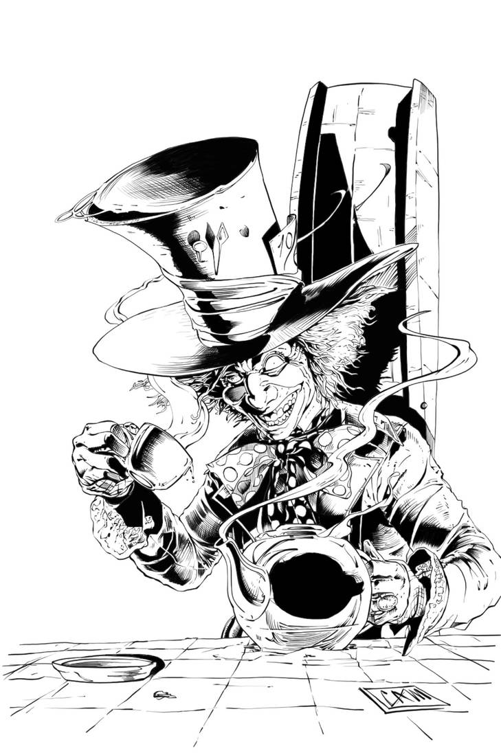 The Mad Hatter by camadams by Pendecon