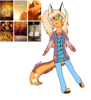 Autum fennic adopt (closed) by TheLittleFluff
