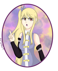 Lucy (Fanart) by TheLittleFluff