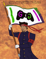Alejandro the GamerGate Flagbearer by Doumeki-Kai