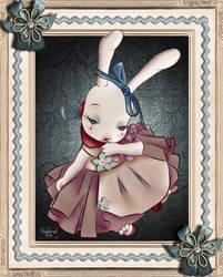 cute Bunny by luckitacami
