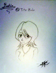 My Rukia 2 -uncolored- by Spector-Q