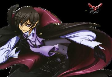 Lelouch Vampire Render by MegamiNaru