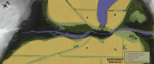 Monument - Rose Valley Map by The-Brade