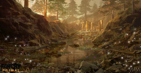 concept art of farcry primal 6 by waywayart