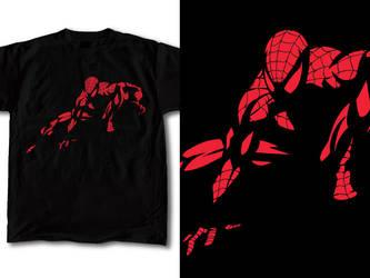 Spiderman T-Shirt Design 01 by RobDuenas