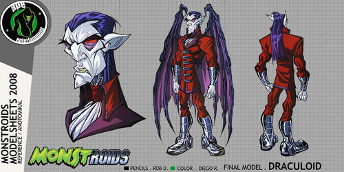 Monstroids Modelsheet 07 by RobDuenas