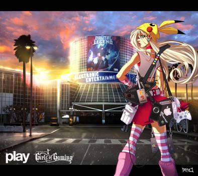 E3 2009 PLAY Pinup by RobDuenas