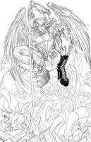 Penny Cover - ANGEL WIP 02 by RobDuenas