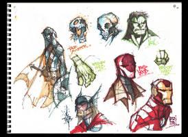 Sketches @ Midnight 001 by RobDuenas