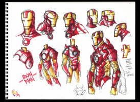 Sketches @ Midnight 002 by RobDuenas