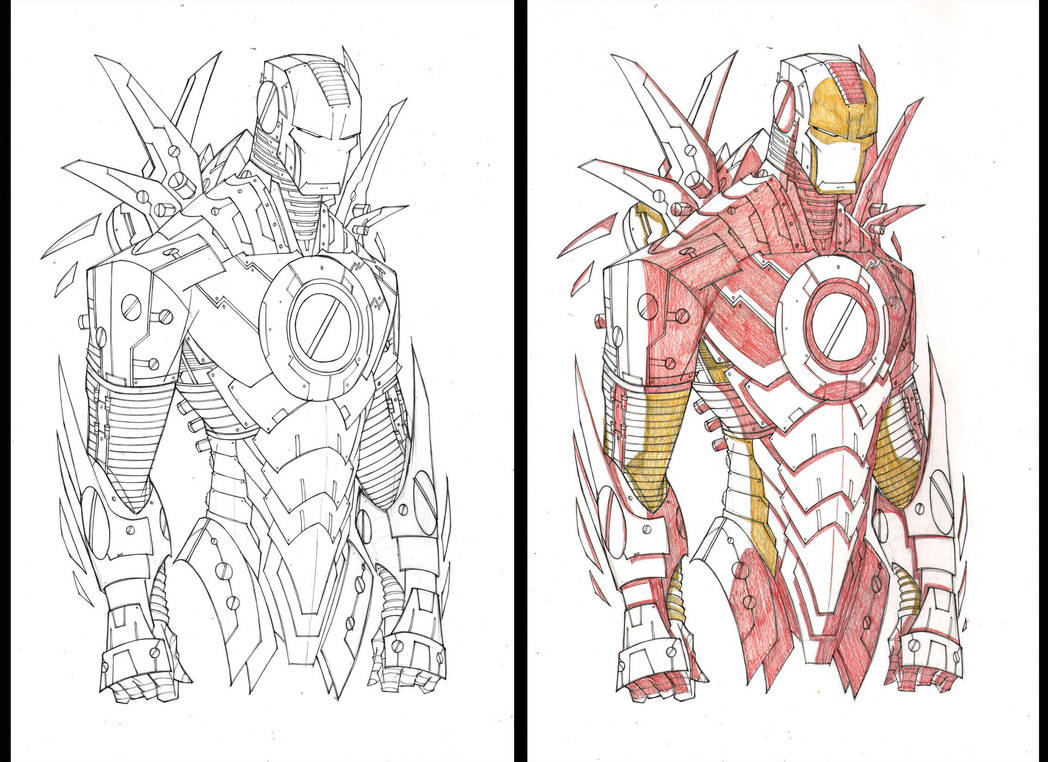 Avengers 'Saucy' Prints WIP 14 by RobDuenas