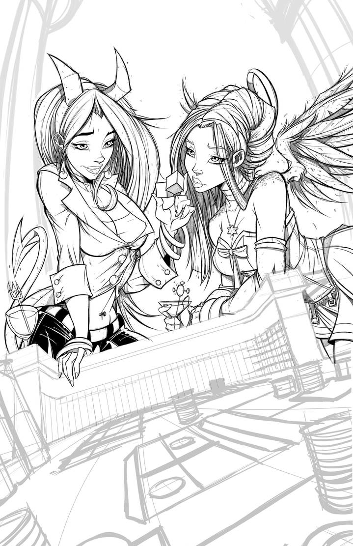 Penny Cover 09 - WIP 06 by RobDuenas
