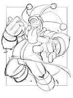Commish 98 WIP 03 by RobDuenas
