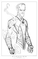 Commish 99 WIP 01 by RobDuenas