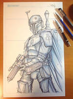 Commish 115 WIP 02 by RobDuenas