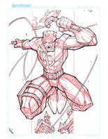 Commish 117 WIP 02 by RobDuenas