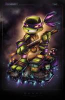 TMNT Mini Donny by RobDuenas