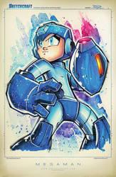 Megaman Suave by RobDuenas