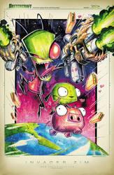 Invader Zim by RobDuenas