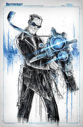 Agent Coulson Saucy Noir by RobDuenas