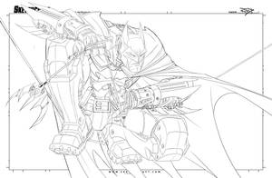 Batman Saucy WIP 01 by RobDuenas