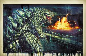 Godzilla Saucy by RobDuenas