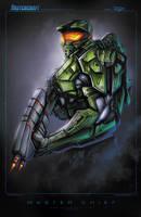Master Chief by RobDuenas