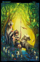 Princess Mononoke by RobDuenas