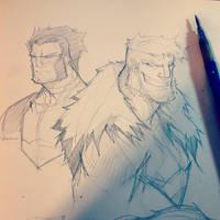 Sketches @ Breakfast 005 by RobDuenas