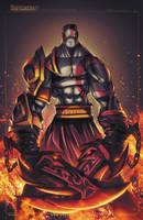 God of War - Kratos by RobDuenas