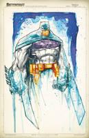 Batman Saucy Sketch by RobDuenas