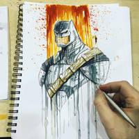Batman v Superman Armor Con Saucy by RobDuenas