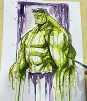 Hulk Con Saucy by RobDuenas