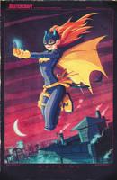 Batgirl Digicolors by RobDuenas