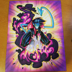 Commision: X-Men Nightcrawler by RobDuenas