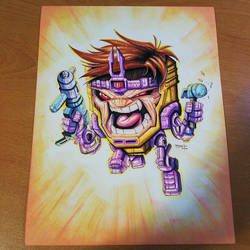 Commision: Marvel Modok by RobDuenas