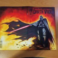 Commision: Darthvader - Copics by RobDuenas